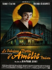 7g722 AMELIE French 1p 2001 Jean-Pierre Jeunet, great photo of Audrey Tautou by Laurent Lufroy!