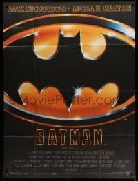 7g736 BATMAN French 1p 1989 Michael Keaton, Jack Nicholson, directed by Tim Burton!
