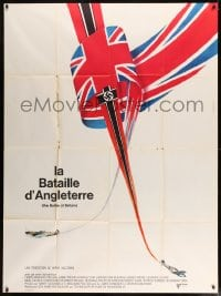 7g737 BATTLE OF BRITAIN French 1p 1969 all-star cast in historical World War II battle!
