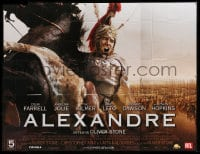 7g622 ALEXANDER advance French 8p 2004 directed by Oliver Stone, close up of Colin Farrell at war!