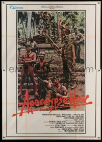 7g314 APOCALYPSE NOW Italian 2p 1979 Francis Ford Coppola, cool different cast portrait!