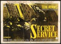 7g303 2nd BEST SECRET AGENT Italian 4p 1965 art of Tom Adams in English spy spoof, Secret Service!