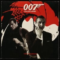 7g049 JAMES BOND 12x12 calendar 1999 Sean Connery, Roger Moore, a different image every month!