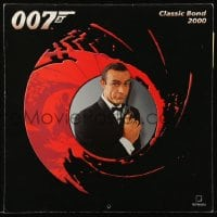 7g050 JAMES BOND 12x12 calendar 2000 Sean Connery, Roger Moore, a different image every month!