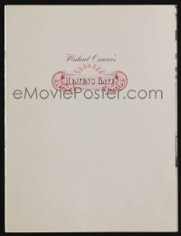 7g024 HEAVEN'S GATE souvenir program book 1981 Michael Cimino, Kris Kristofferson, Huppert