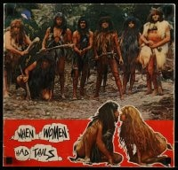 7g025 WHEN WOMEN HAD TAILS English souvenir program book 1973 prehistoric cavewoman Senta Berger!