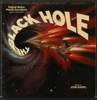 7g060 BLACK HOLE soundtrack record 1979 composed & conducted by John Barry, Disney sci-fi!