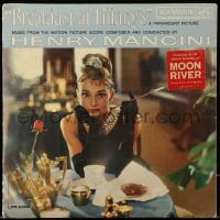 7g061 BREAKFAST AT TIFFANY'S soundtrack record 1961 Audrey Hepburn, Henry Mancini's music!