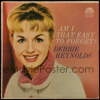 7g062 DEBBIE REYNOLDS 33 1/3 RPM record 1959 the actress' album Am I That Easy to Forget?