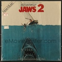 7g066 JAWS 2 soundtrack record 1978 classic music composed & conducted by John Williams!
