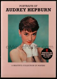 7g079 AUDREY HEPBURN 8 13x18 art prints 2012 wonderful portraits, varnished, ready to frame!