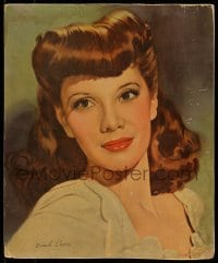 7g057 DINAH SHORE 14x17 standee 1940s head & shoulders portrait of the beautiful singer/actress!