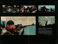 7g041 DEER HUNTER promo brochure 1978 directed by Michael Cimino, Robert De Niro, Christopher Walken