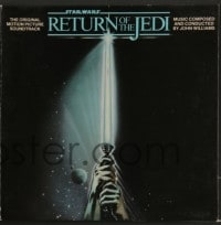 7g069 RETURN OF THE JEDI soundtrack record 1983 music performed by the London Symphony Orchestra!