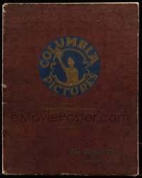 7m141 COLUMBIA 1927-28 campaign book 1927 great signed art ads for their upcoming movies, rare!