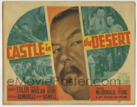 7m040 CASTLE IN THE DESERT TC 1942 Sidney Toler as detective Charlie Chan by montage of images!