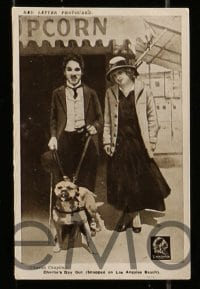 7m012 CHARLIE CHAPLIN RED LETTER PHOTOCARD SET set of 29 4x6 English photos 1915 from Essanay movies