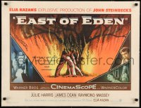 7p108 EAST OF EDEN linen 1/2sh 1955 first James Dean, John Steinbeck, directed by Elia Kazan!