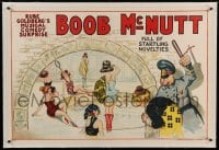 7p143 BOOB MCNUTT linen 28x42 stage poster 1920s Rube Goldberg's Musical Comedy Surprise, sexy art!