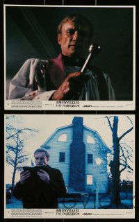 7s027 AMITYVILLE II 8 8x10 mini LCs 1982 Jack Magner & priest James Olson, horror!