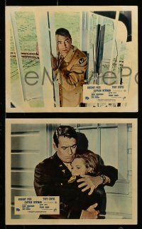 7s040 CAPTAIN NEWMAN, M.D. 8 color English FOH LCs 1964 Gregory Peck, Tony Curtis, Dickinson, Darin