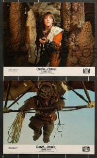 7s043 CARAVAN OF COURAGE 8 color English FOH LCs 1984 An Ewok Adventure, Star Wars, great images!