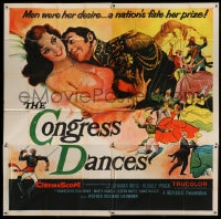 7t031 CONGRESS DANCES 6sh 1956 men were her desire, a nation's fate her prize, sexy art!