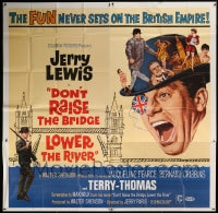7t035 DON'T RAISE THE BRIDGE, LOWER THE RIVER 6sh 1968 wacky art of Jerry Lewis in London!