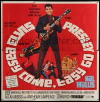 7t038 EASY COME, EASY GO 6sh 1967 different image scuba diver Elvis Presley & playing guitar!