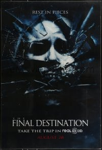 7w015 FINAL DESTINATION teaser lenticular 1sh 2009 Bobby Campo, Mykelti Williamson, rest in pieces!