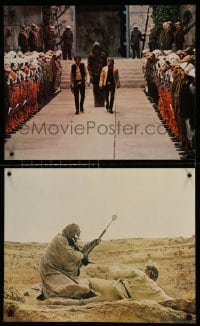 7w033 STAR WARS 4 color from 14.5x20 to 16x20 stills 1977 Luke, Leia, Han, Darth Vader, great images!