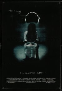 7w021 RING 2 lenticular 1sh 2005 Hdieo Nakata directed, great image from horror sequel!