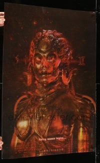 7w023 SPECIES II lenticular advance 1sh 1998 great image of sexy alien Natasha Henstridge!