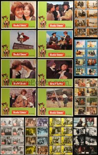 7x007 LOT OF 96 LOBBY CARDS 1970s-1980s complete sets of 8 cards from 12 different movies!