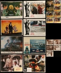 7x010 LOT OF 21 LOBBY CARDS 1950s-1980s View to a Kill, 2001: A Space Odyssey & more!