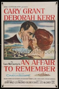 7y027 AFFAIR TO REMEMBER 1sh 1957 best scene, Cary says If it had to be one of us, why was it you!