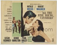 8k009 ALL THE FINE YOUNG CANNIBALS TC 1960 Robert Wagner w/ Natalie Wood & getting hit by Kohner!