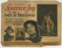 8k011 ANGEL OF BROADWAY TC 1927 directed by Lois Weber, Joy as dancer & fake Salvation Army lady!