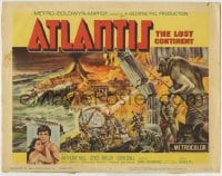 8k017 ATLANTIS THE LOST CONTINENT TC 1961 George Pal sci-fi, cool fantasy art by Joseph Smith!