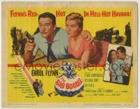 8k031 BIG BOODLE TC 1957 Errol Flynn red-hot in Havana Cuba with sexy Rossana Rory!