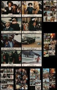 8m034 LOT OF 56 FRENCH LOBBY CARDS 1970s-1990s great scenes from a variety of different movies!