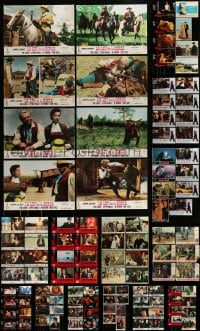 8m028 LOT OF 126 SPANISH LOBBY CARDS 1950s-1990s great scenes from a variety of different movies!
