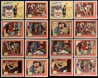 8m022 LOT OF 16 11X14 AND 8X10 REPROS OF CHRISTMAS CAROL LOBBY CARDS 2000s two complete sets!