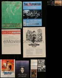 8m038 LOT OF 12 MISCELLANEOUS ITEMS 1930s-1990s a variety of cool movie images!