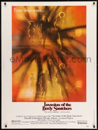 8r037 INVASION OF THE BODY SNATCHERS 30x40 1978 Kaufman classic remake of sci-fi thriller!