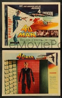 8w042 4D MAN 8 LCs 1959 includes great fx scenes of Robert Lansing passing through solid matter!