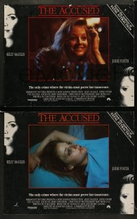 8w047 ACCUSED 8 LCs 1988 Jodie Foster, Kelly McGillis, the case that shocked a nation!