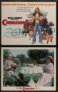 8w020 CANDLESHOE 9 LCs 1977 Walt Disney, young Jodie Foster, she'd con her own grandma!