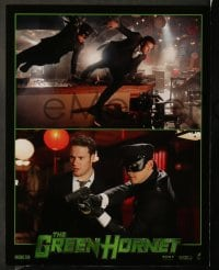 8w014 GREEN HORNET 10 LCs 2011 Seth Rogen, Cameron Diaz, w/cool images of cars!