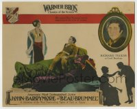 8z004 BEAU BRUMMEL LC 1924 cynnical John Barrymore is impervious to pretty Carmel Myers' wiles!